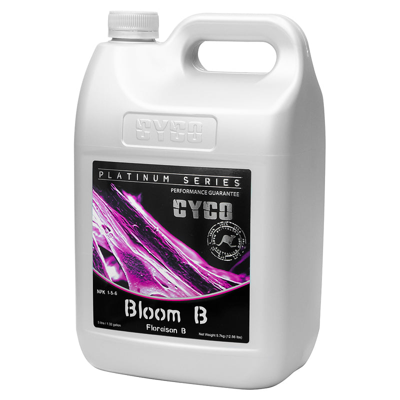 CYCO bloom B in a 5-liter container