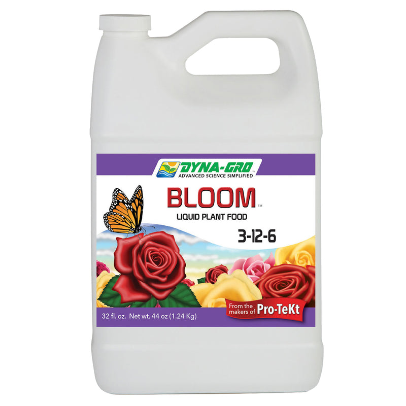1-gallon dyna-gro bloom container