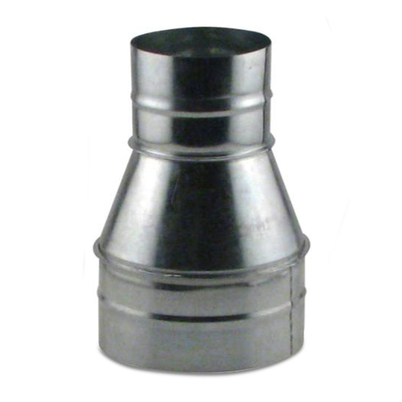 6-inch to 4-inch duct reducer