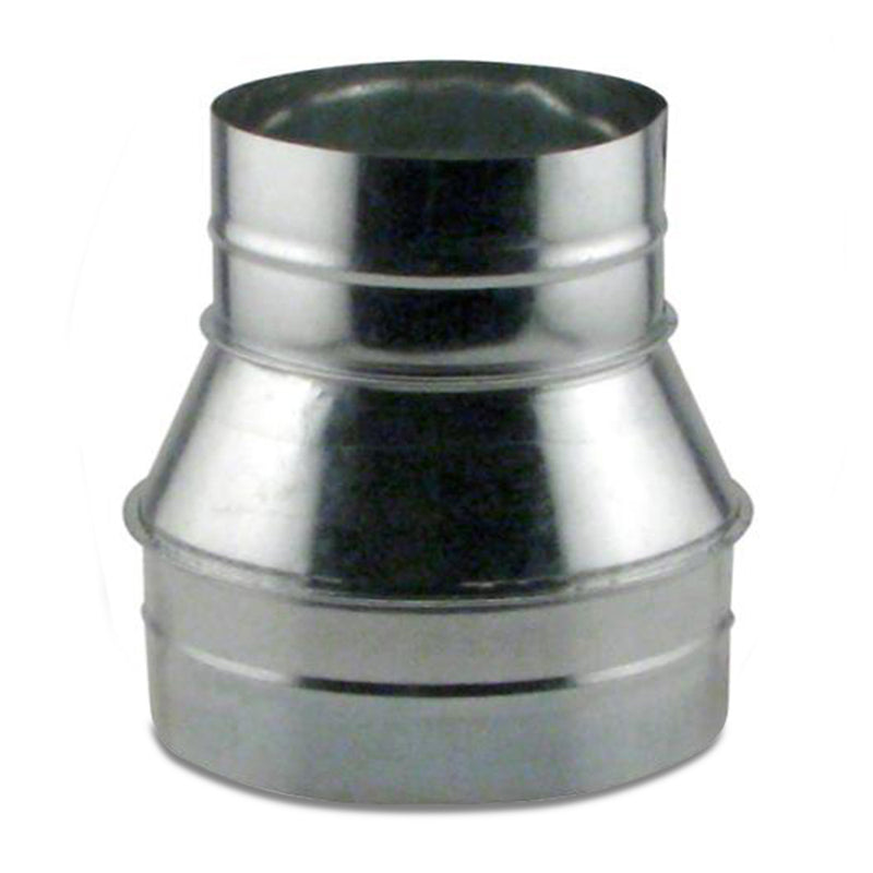 8-inch to 6-inch duct reducer