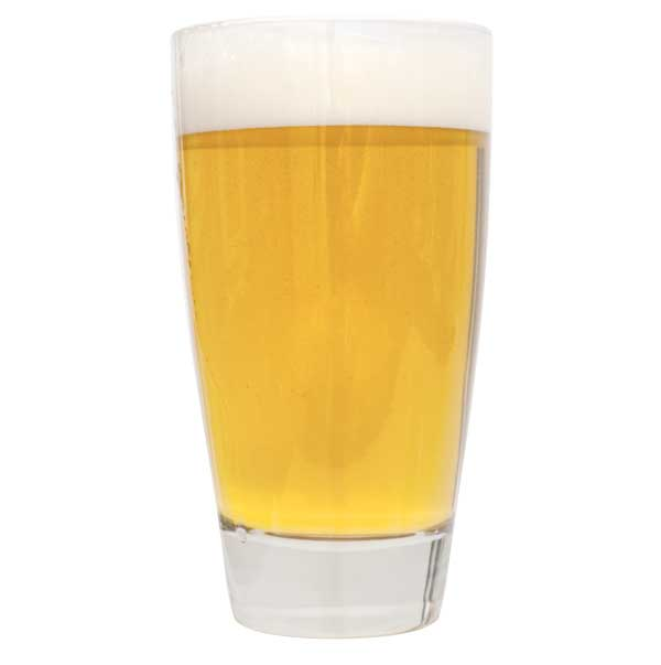 Lefse Blonde in a drinking glass