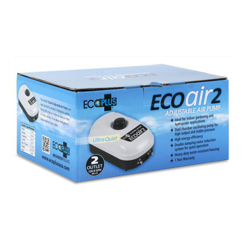 EcoPlus Eco Air 2 - Two Outlet 126 GPH