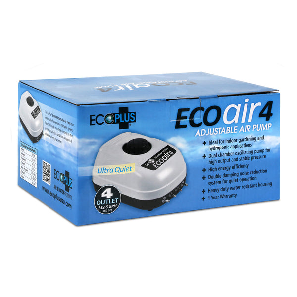 The EcoPlus Eco Air 4's box