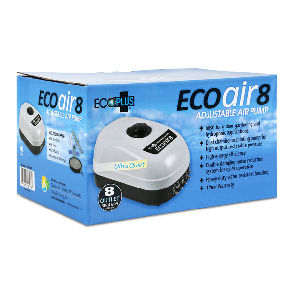 EcoPlus Eco Air - 8 Eight Outlet 380 GPH