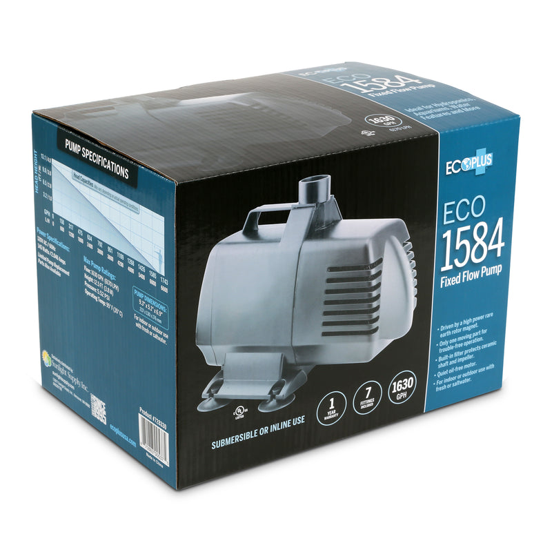EcoPlus Eco 1584 - Fixed Flow Pump 1638 GPH
