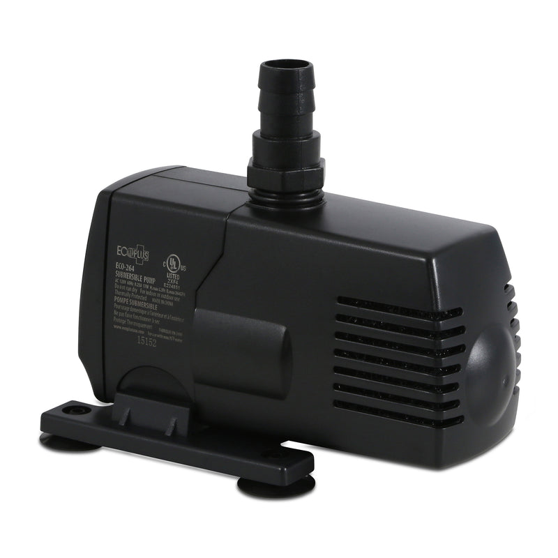 EcoPlus Eco 264 - Fixed Flow Submersible/Inline Pump 290 GPH