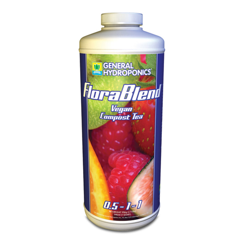 1-quart container of GH FloraBlend