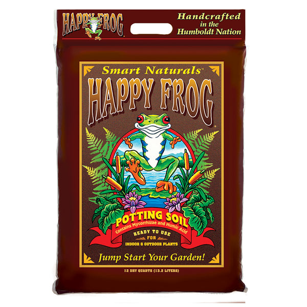 Happy Frog Potting Soil bag logo