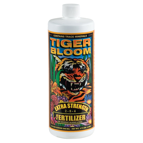 FoxFarm Tiger Bloom Liquid Plant Food, qt