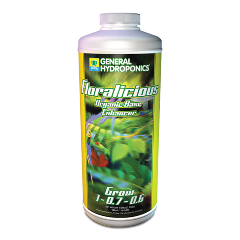 1-quart container of GH Floralicious Grow
