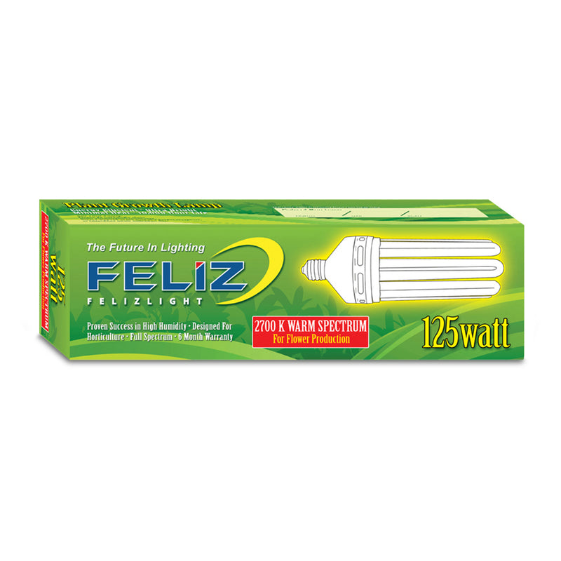 Feliz Red Fluorescent 125 Watt 2700K