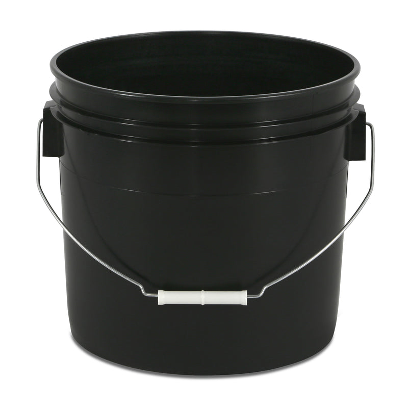3 Gallon Black Bucket