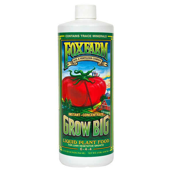 FoxFarm Grow Big Liquid Plant Food, qt