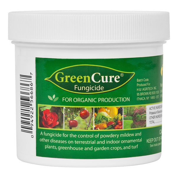 GreenCure Fungicide in its container