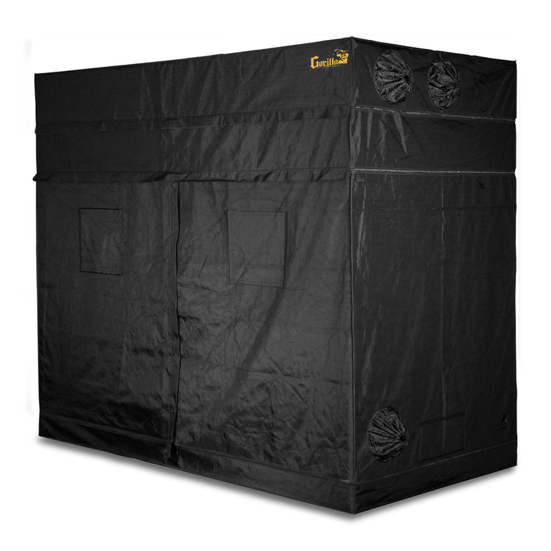 Front view of the gorilla grow tent