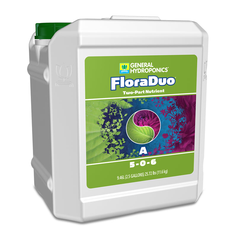 2.5-gallon container of GH Flora Duo A