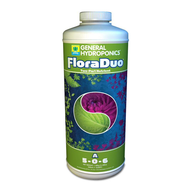 1-quart container of GH Flora Duo A