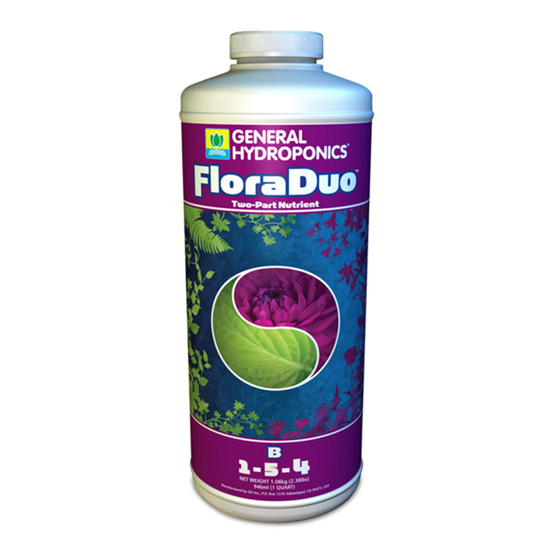1-quart container of GH Flora Duo B