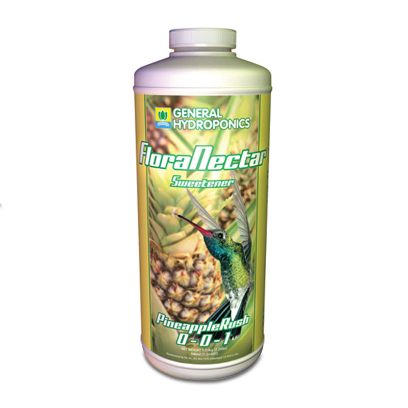 1-quart container of GH Flora Nectar pineapple rush
