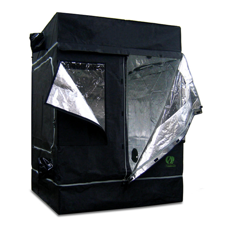 Grow Lab GL120L with one door and one window flap opened