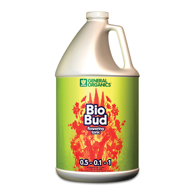 1-gallon jug of BioBud general organics