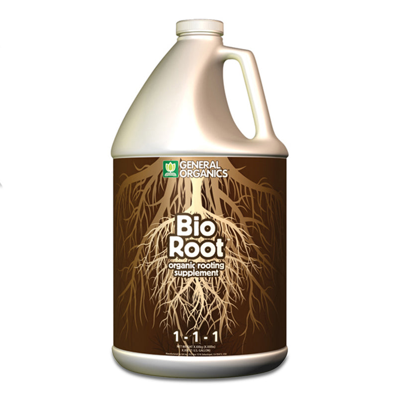 1-gallon jug of bioroot general organics