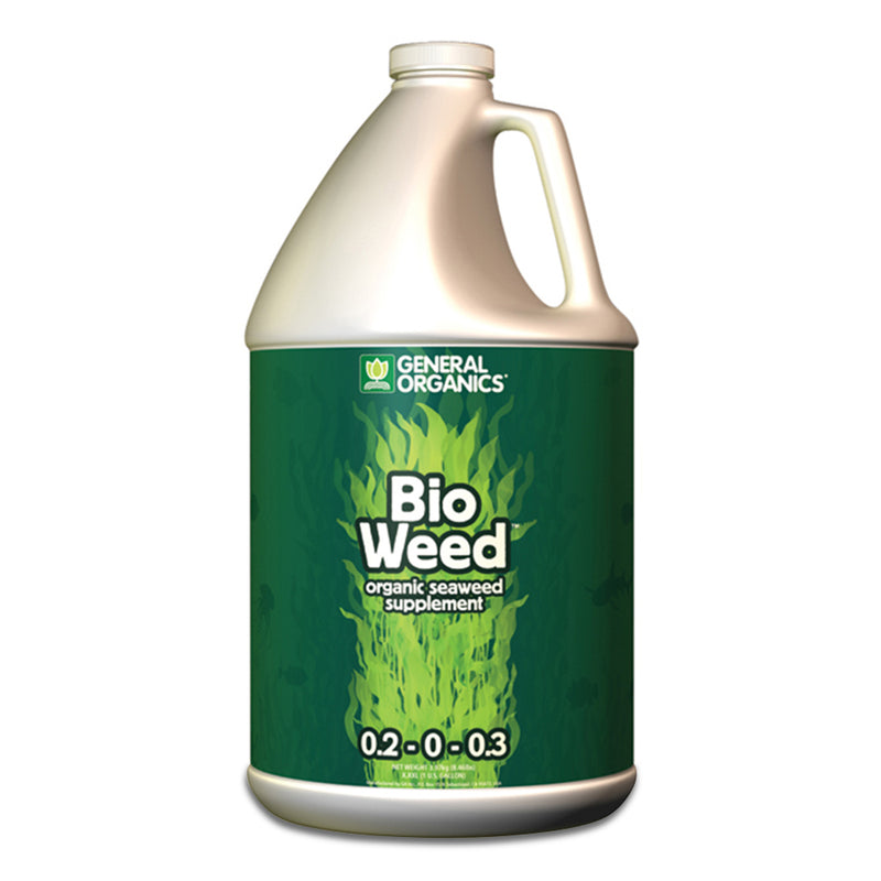 1-gallon jug of bioweed general organics