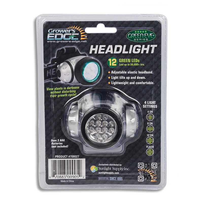 The headlight in its packaging