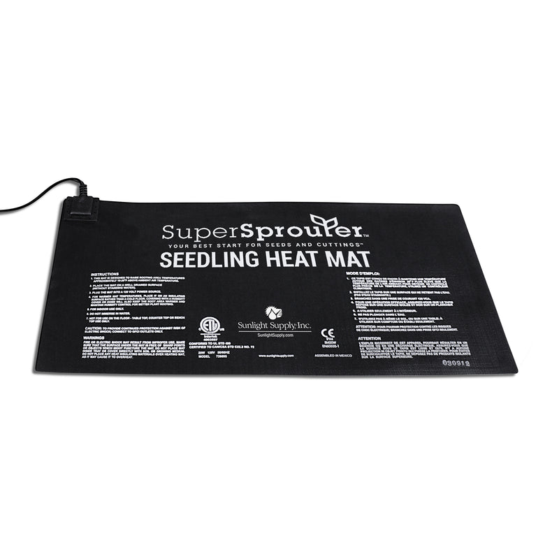 The 10-inch by twenty-one-inch Super Sprouter Seedling Heat Mat 10