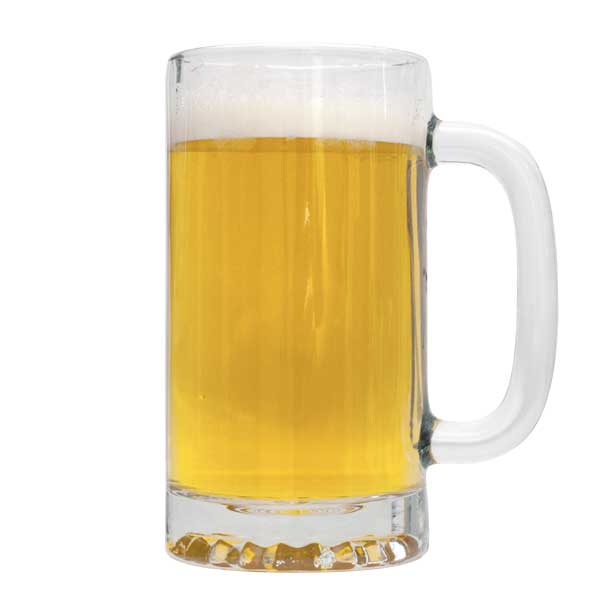 American Wheat Beer homebrew in a tall mug
