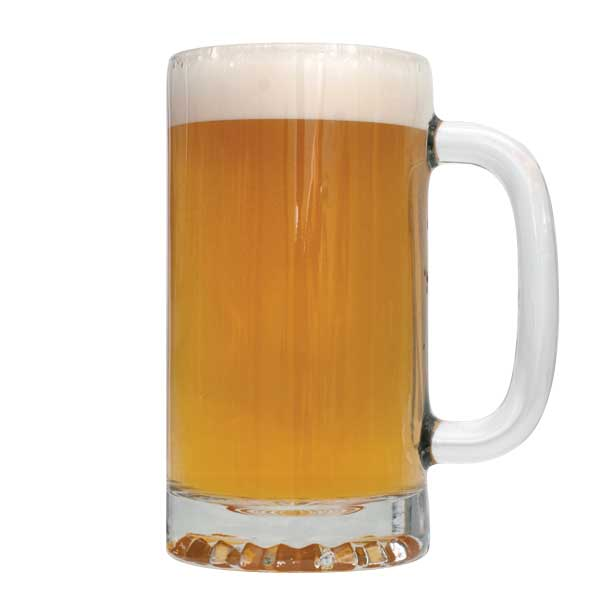 Permafrost India White Ale in a mug