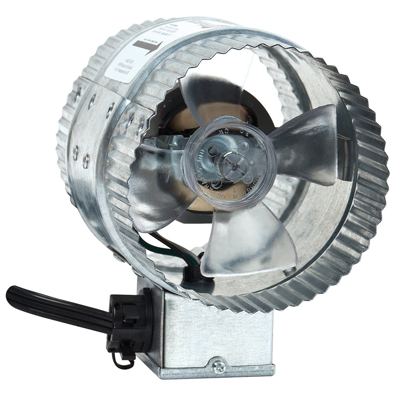 "Sunleaves In-Line Duct Fan 4"" 65 CFM"