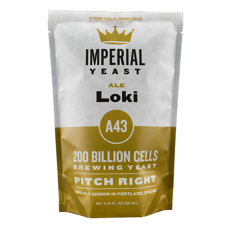 imperial norwegian ale loki kveik liquid yeast pack