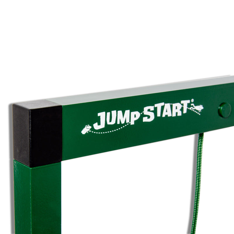 Jump Start's logo on the system