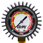 CO2PO® Single Body Regulator gauge