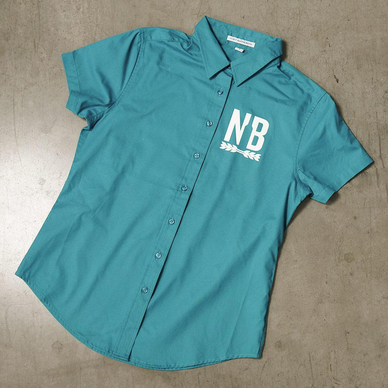 Northern Brewer Women's Teal Workshirt