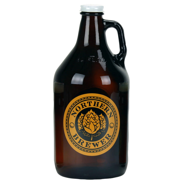 Northern Brewer Gold Crest Growler with Cap