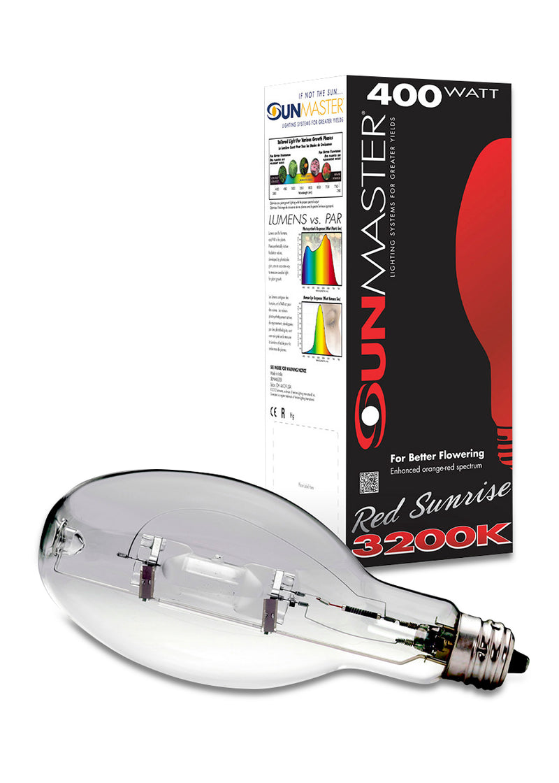 Sunmaster Red Sunrise Metal Halide Lamp, 400W