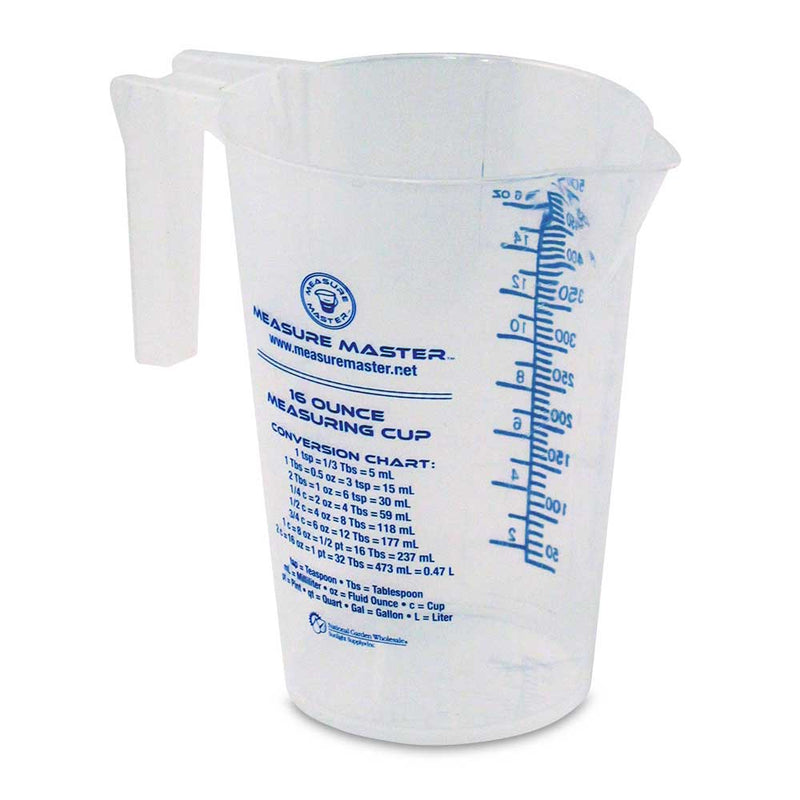 Graduated Round Container 16 oz / 500 ml