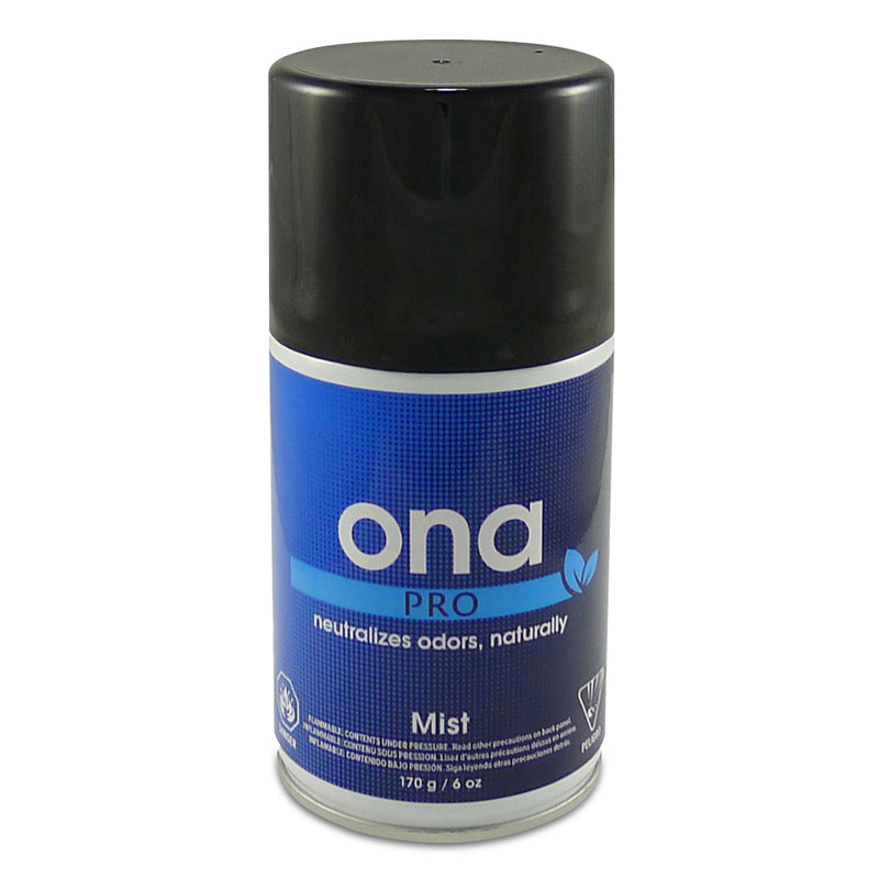 6-ounce can of Ona Pro Mist Odor Neutralizer
