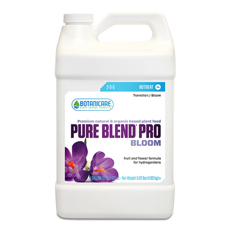 1-gallon of Botanicare Pure Blend Pro Bloom in a container