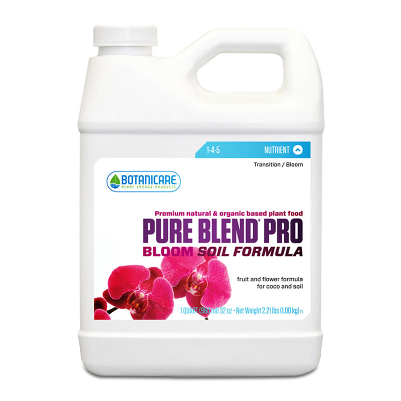1-quart container of Botanicare pure blend pro soil