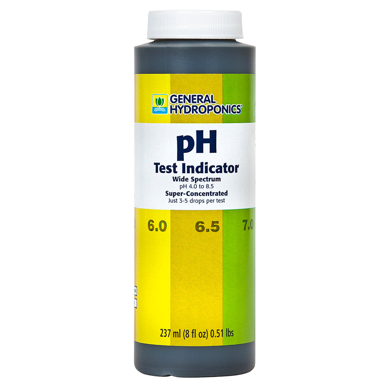 pH Test Indicator Refill 8 oz