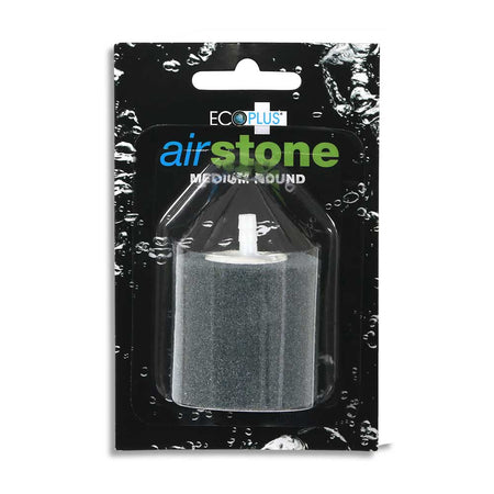 The medium round air stone in its packaging