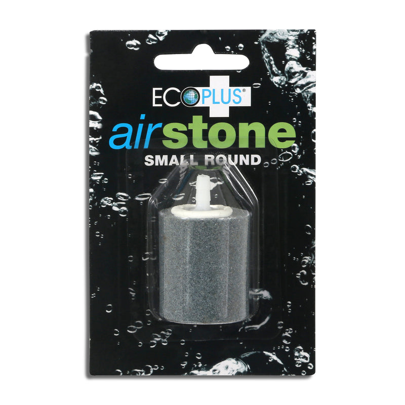 The small round air stone in its packaging