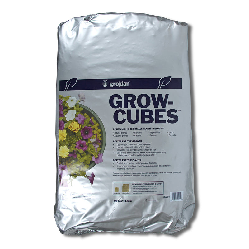 2-cubic-feet of Growcubes in their bag