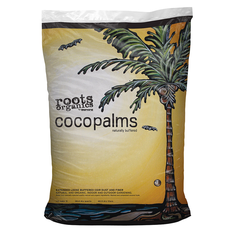 1.5-cubic-feet of Roots Organics Coco Palms in a bag
