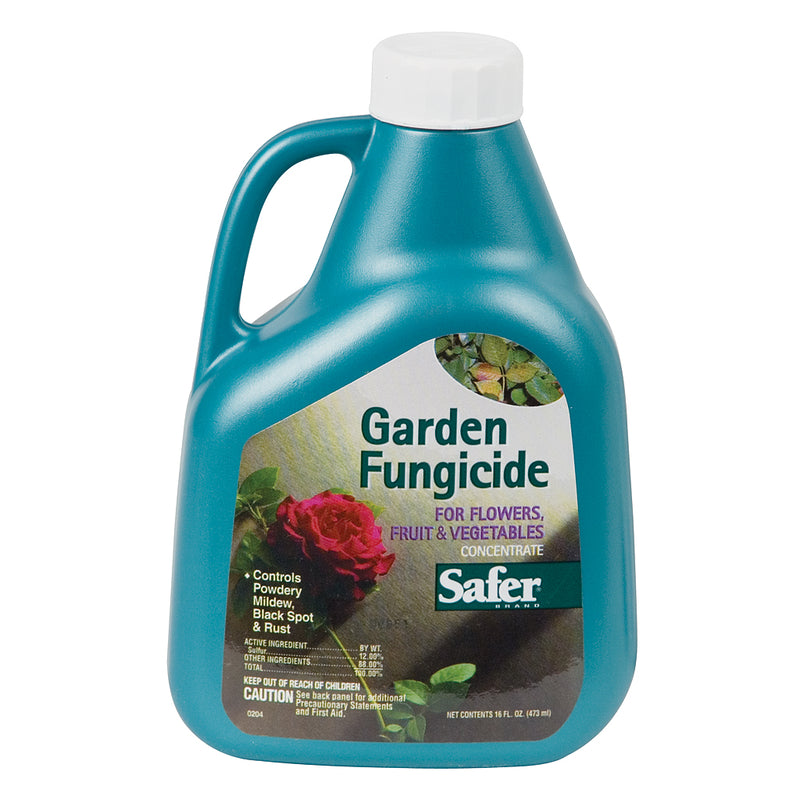 16-ounce jug of Safer Garden Fungicide Concentrate