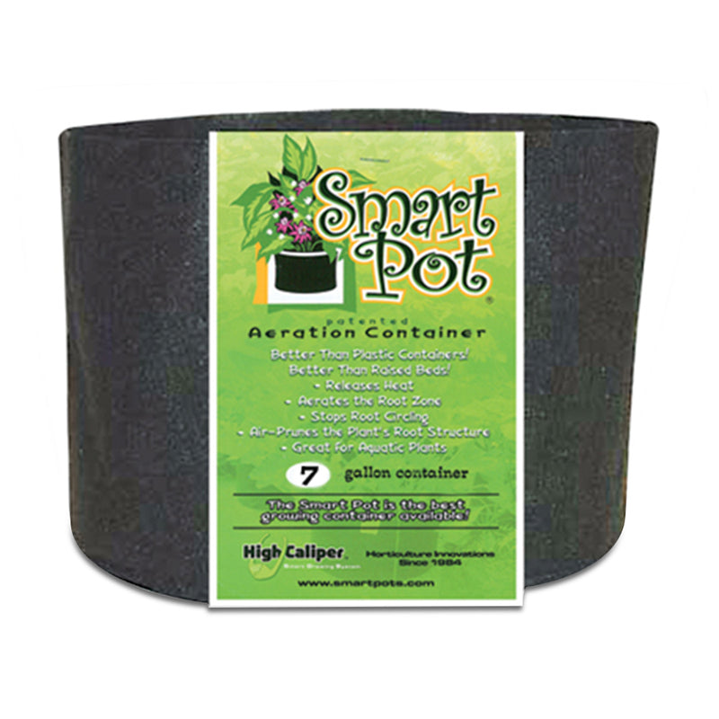 7-gallon Smart Pot Black Growing Container