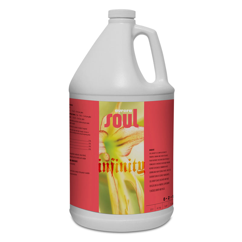 1-gallon jug of Soul Synthetics Infinity